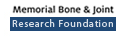 Memorial Bone and Joint Foundation